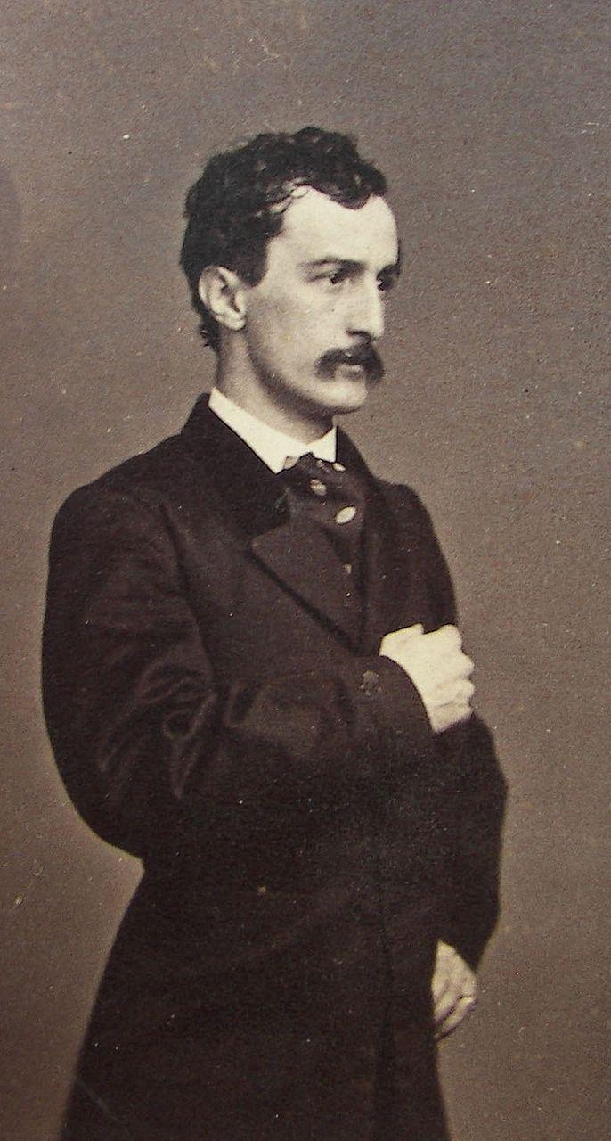 1862 Original CDV Photo of John Wilkes Booth from ...