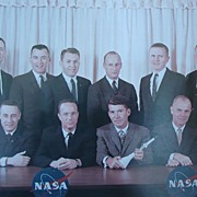 Original Photograph of Original Mercury Astronauts