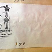 Civil War Patriotic Illustrated Envelope Cover Zouave Hanging Traitors