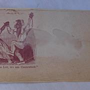Civil War Patriotic Cover Contraband Slaves