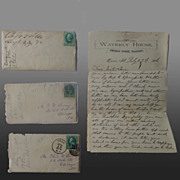 Civil War Virginia Reconstruction Letters Thomas W.Young