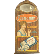 Early Feen-Mint Laxative Drug Store Display