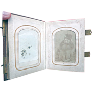 Alexandria,Va. Civil War Photo Album Seth Kinsman cdv and Folk Art