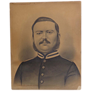 Civil War Portrait of Captain George Davis 54th Regiment Pa