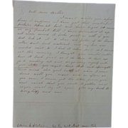 Civil War Letter Edwin Stetson Co.E 23rd Reg. Mass I'm Having My Picture ...