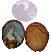 Georgian period Miniature Painting of Bride