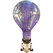 SOLD GINORMOUS Early Thomas Edison Light bulb