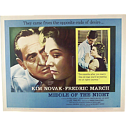"16 mm Four Reel Film of The 1959  Movie ""In Middle of the Night"" with ..."