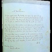 SOLD Columbus,Mississippi 1861 Civil War Confederate Ladies Diary