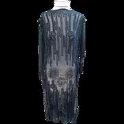 SOLD 1920's Beaded Flapper Tunic Dress Razzle Dazzle