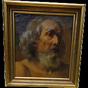 SALE PENDING Incredible Old Masters Painting of Biblical Saint