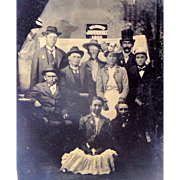 Tintype of Milwaukee Jahrmarkt of 1902