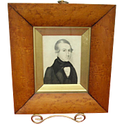 American Portrait of Philadelphia Lawyer c.1830's by Augustus Day