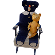 SOLD Teddy Bear Rocking Chair Martin Luther King and Woolworth