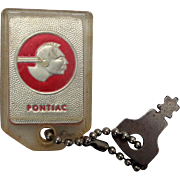 1956 Pontiac Star Chief Key Chain McDaniel Pontiac Cadillac Marion,Ohio