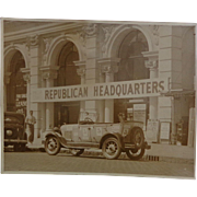 How to Get a Republican really ticked off !  Alf Landon Franklin Roosevelt Democratic Party Ph