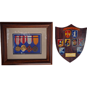 Macv Team 3 1st Infantry Division  Medals from Vietnam era