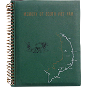 US Soldiers Memory Album South Vietnam 1960's