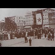 Long Beach Ca. 1918 World War 1 Bond Rally Photograph