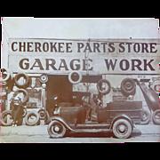Cherokee Parts Store Atlanta,Georgia 1936 Photograph