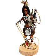 Hopi Kachina Rain Dance Doll by Raymond Parkett