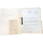 World War 2 Top Secret Documents of the U.S. Signal Corps stationed in Europe ...