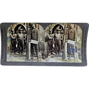 KaBOOM!  The Worst Job in America Stereoview