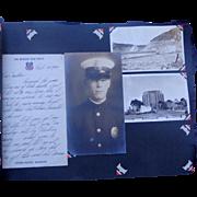 1930's Photo Album of Los Angeles,Ca Fireman,Policeman & Engine Company 25