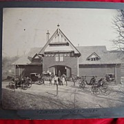 1880's Avondale,Arizona Horse/Carriage Stables Photograph