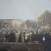 Sept 19th 1917 Waldo County,Belfast Maine World War 1 Photo