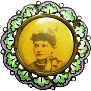 REDUCED Enamel Suffragette Pin Victorian Women's Right to Vote