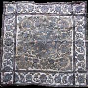 Antique Ottoman Turkish  Cover  Metallic Embroidery 18th Century