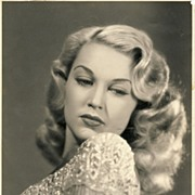 Unknown 1940's Blonde Bombshell Entertainer