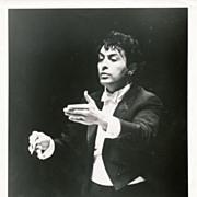 Zubin Mehta, Music Director of the Los Angeles Philharmonic 1970's