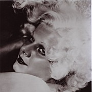 """Silver Screen Actress, Jean Harlow """" Blonde Bombshell""""  1930's"""