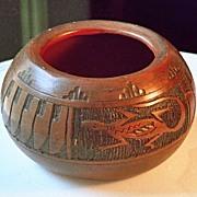"""Navajo """"Horsehair"""" Vase"""