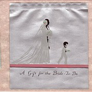 Art Deco Wedding Gift Card Circa 1931