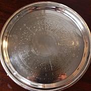 Regency Period Sheffield Plate Salver