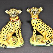 A Pair of Basil Matthews Cheetahs