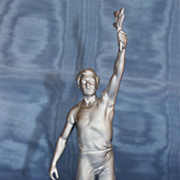 Art Deco Olympiad Statue Olive Branch Bearer