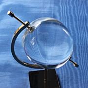 Will Hardy Lucite Orb Circa late 1960's-Early '70'S