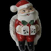 Mid Century Mod Christmas Santa Salt and Pepper Shaker