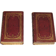 Two Book Set Common Prayer & Proper Lessons 1847/48