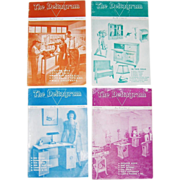 1946/47 The Deltagram Vol. 16, 4 Issues