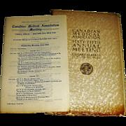 Canadian Med. Association 65th Meeting June 18, 1934