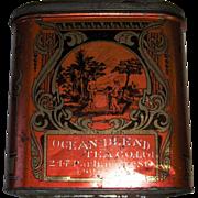 Ocean Blend Tea Co. Ltd.  LARGE Tea Tin