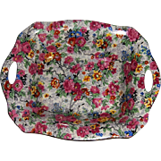 Lord Nelson Ware Chintz Tray in Marina Pattern