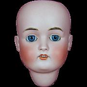SOLD Kestner 168 Bisque Head w/ Original Sleep Eyes