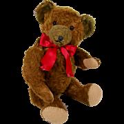 """19"""" Cinnamon Mohair Teddy Bear"""