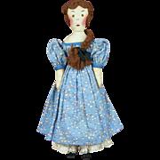 Vintage Edith Flack Ackley Cloth Doll